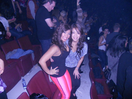 Me and Frances at Watch the Throne