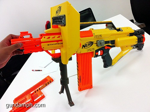 NERF Sale 50% Off Stampede Raider Recon Unboxing Review (36)