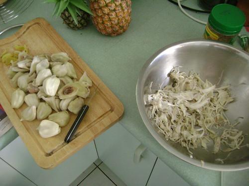 Processing jackfruits
