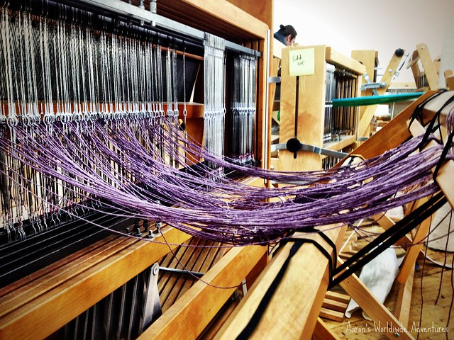 Loom at the Textile Arts Center