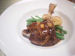 Duck confit, The Tastings Room