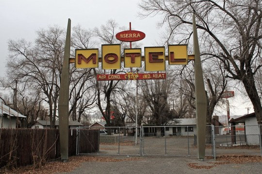 Sierra Motel - Lovelock, Nevada U.S.A. - January 6, 2012
