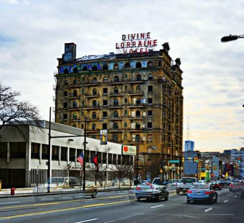 Divine Loreaine Hotel Ridge Avenue and Broad Street Philadelphia, PA Copyright © 2011, Bob Bruhin. All rights reserved.