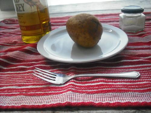 Baked Potato Prep