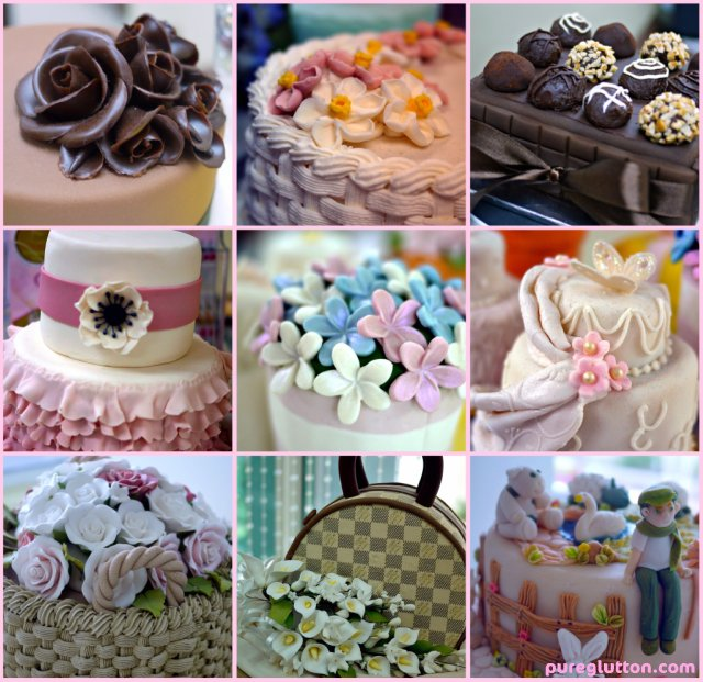 more cakes collage