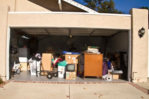 disaster garage - before