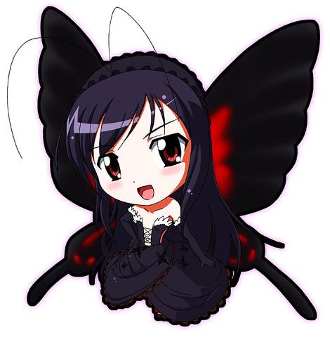 Chibi version of Kuroyukihime