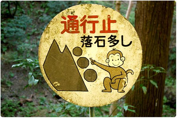 Falling boulders?