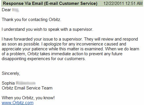 Orbitz Customer Service 8