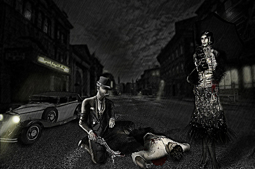 The Fashion Teller- MURDER, My Sweet Casting Contest ENTRY: Chopay Wildcat by Fashion Teller