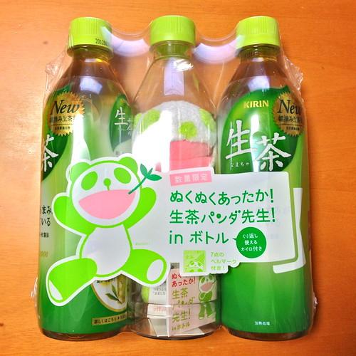 生茶パンダ先生! in ボトル(1)