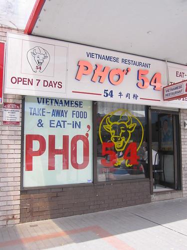 Pho 54, Cabramatta
