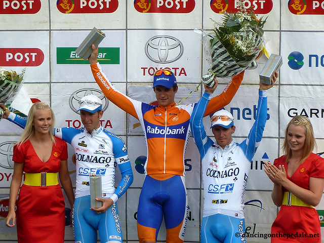 2011 PDR - stage 6 podium