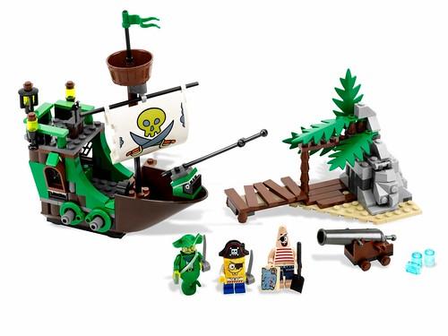 LEGO 3817 The Flying Dutchman SpongeBob SquarePants