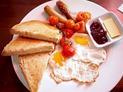 Full cooked weekend breakfast, Jimmy Monkey Cafe & Bar, One-North Residences