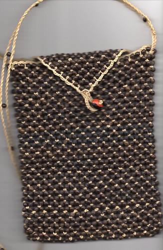 Shipibo Seed bag by Howard G Charing