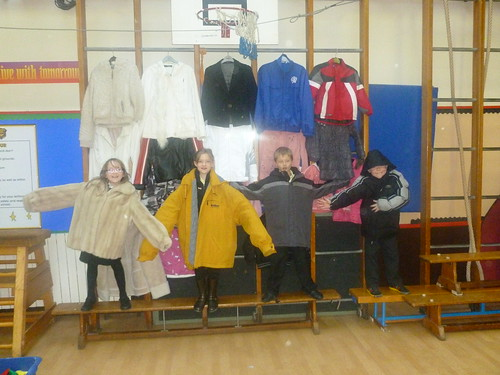 Coats galore