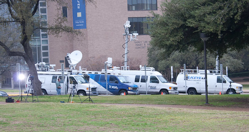 Media at the LBJ Library