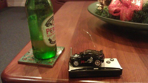 This has been the winner on the day. The car, I mean. Ok, and the beer.