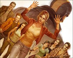 buffy season 8 - comic book series