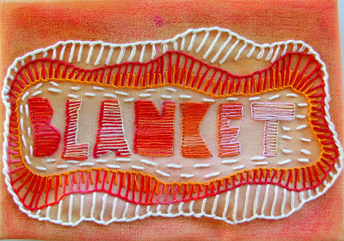 blanket (aka buttonhole) stitch—TAST week 2