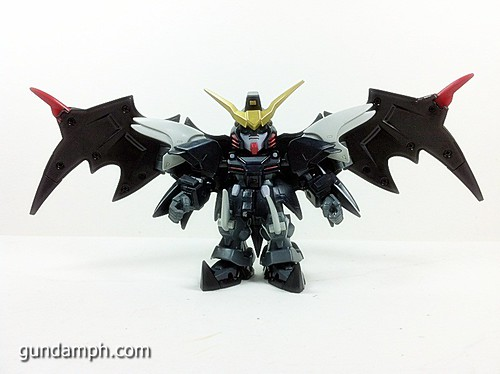 SD Gundam Online Deathscythe Hell Custom Toy Figure Unboxing Review (15)