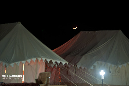 Tents at RTDC Sam.