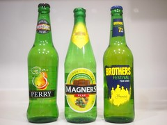 Westons Perry, Magners Irish Pear Cider, Brothers Festival Pear Cider