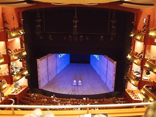 Intermission, Richard III, Esplanade Theatre
