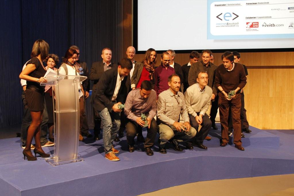 Premiados y patrocinadores de Buber 2011 & Datorrena 2012