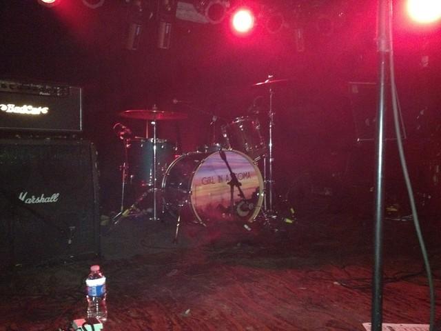 Phanie's drum set.