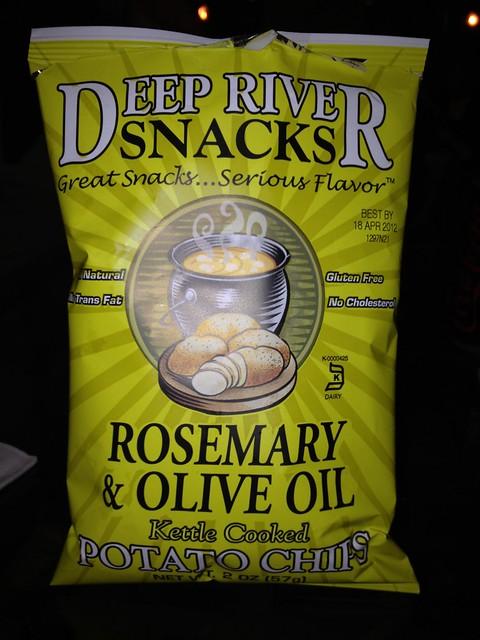 Deep River Snacks: Rosemary & Olive Oil Potato Chips