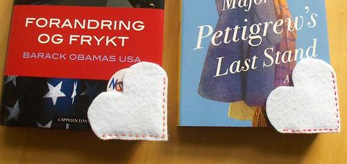 Felt bookmarks