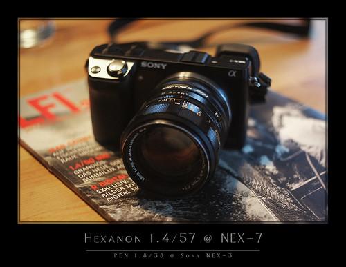 Konica Hexanon 1.4/57