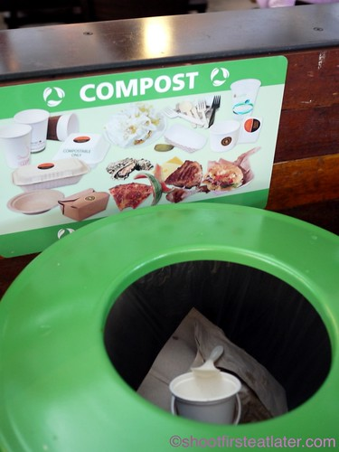 Oxbow Public Market - compost bin
