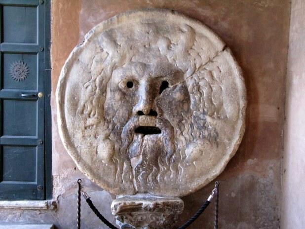 Boca de la Verdad en Roma