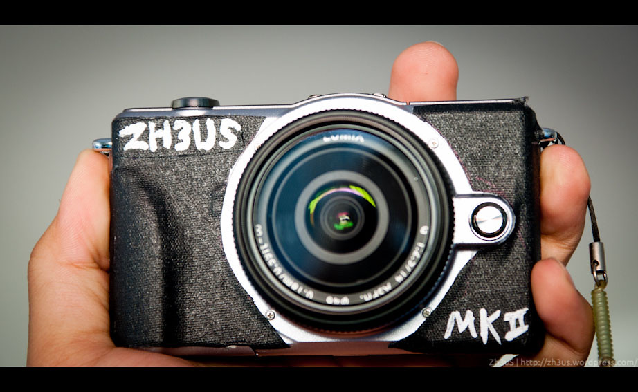 The ZH3US MK II Micro 4:3s Interchangable Lens Camera