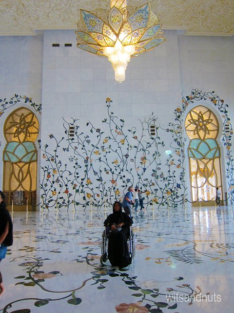 Outer hall of Sheikh Zayed Grand Mosque, Abu Dhabi, UAE