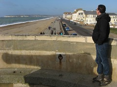 2.Sean gazes out to sea