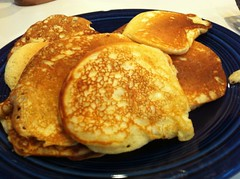 The best pancakes!  Ember's recipe