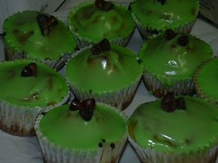 Australia Day cupcakes by kathrynlinge