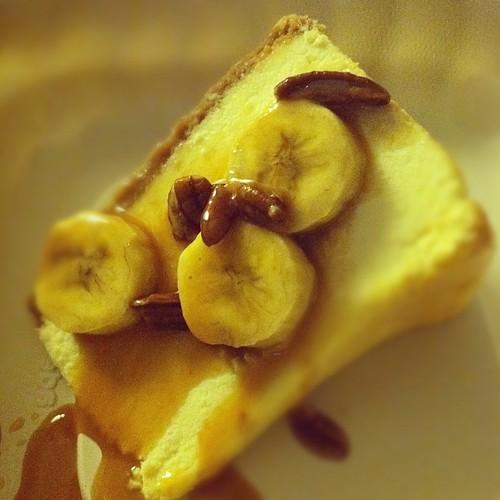 Banana Foster Cheesecake! Yum!!