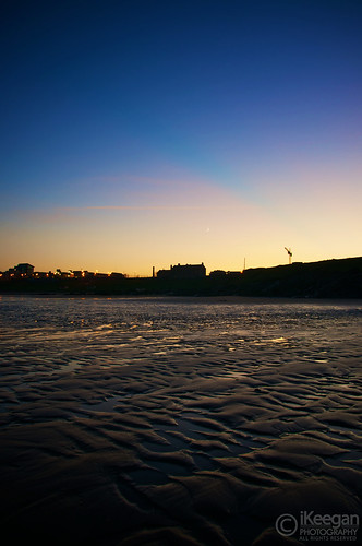 Balbriggan Beach | Left of Martello Tower by Ian Keegan