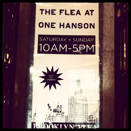 Saturday morning at Brooklyn Flea. #weekendinnyc