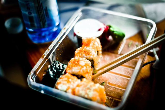 Free sushi! (1)