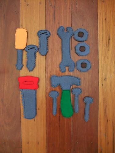 Felt Tools & Tool Belt 2