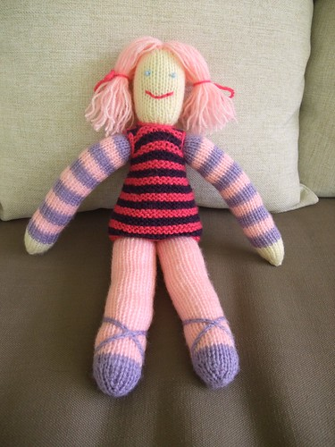 Knitted Doll 3