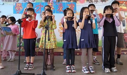 【Video】口琴課:學校表演《私奔到月球》(7.4ys)