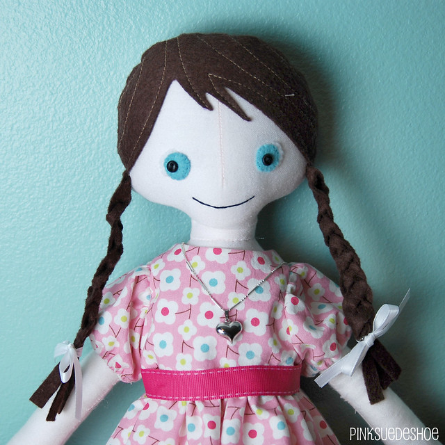 angel doll necklace