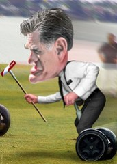 Mitt Romney - Cartoon